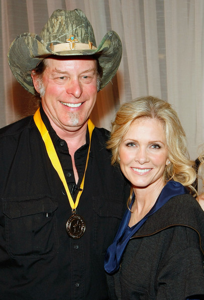 Shemane and Ted Nugent